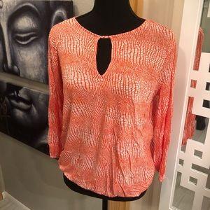 Michael Kors Keyhole shirt / blouse
